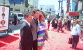 Damian and his parents Joanne and Damian sr.on the Three Stooges world premiere red carpet