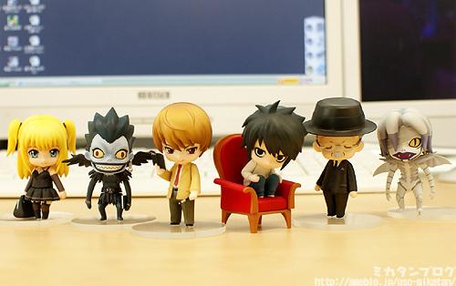 Death Note nendoroids!!!!!