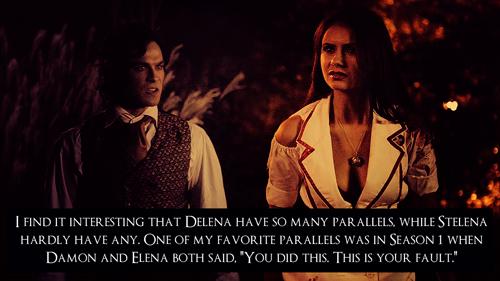 Delena confessions!