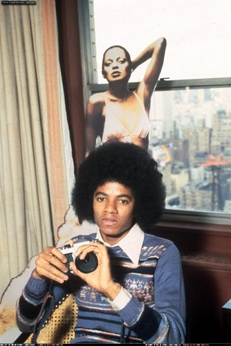 Diana Ross on Michael's room walls