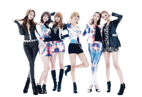 EXID (이엑스아이디) 바탕화면 possibly containing a playsuit, a legging, and tights titled EXID