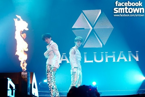 EXO-K fondo de pantalla possibly with a concierto entitled exo Seoul Showcase