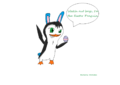 Easter pinguin