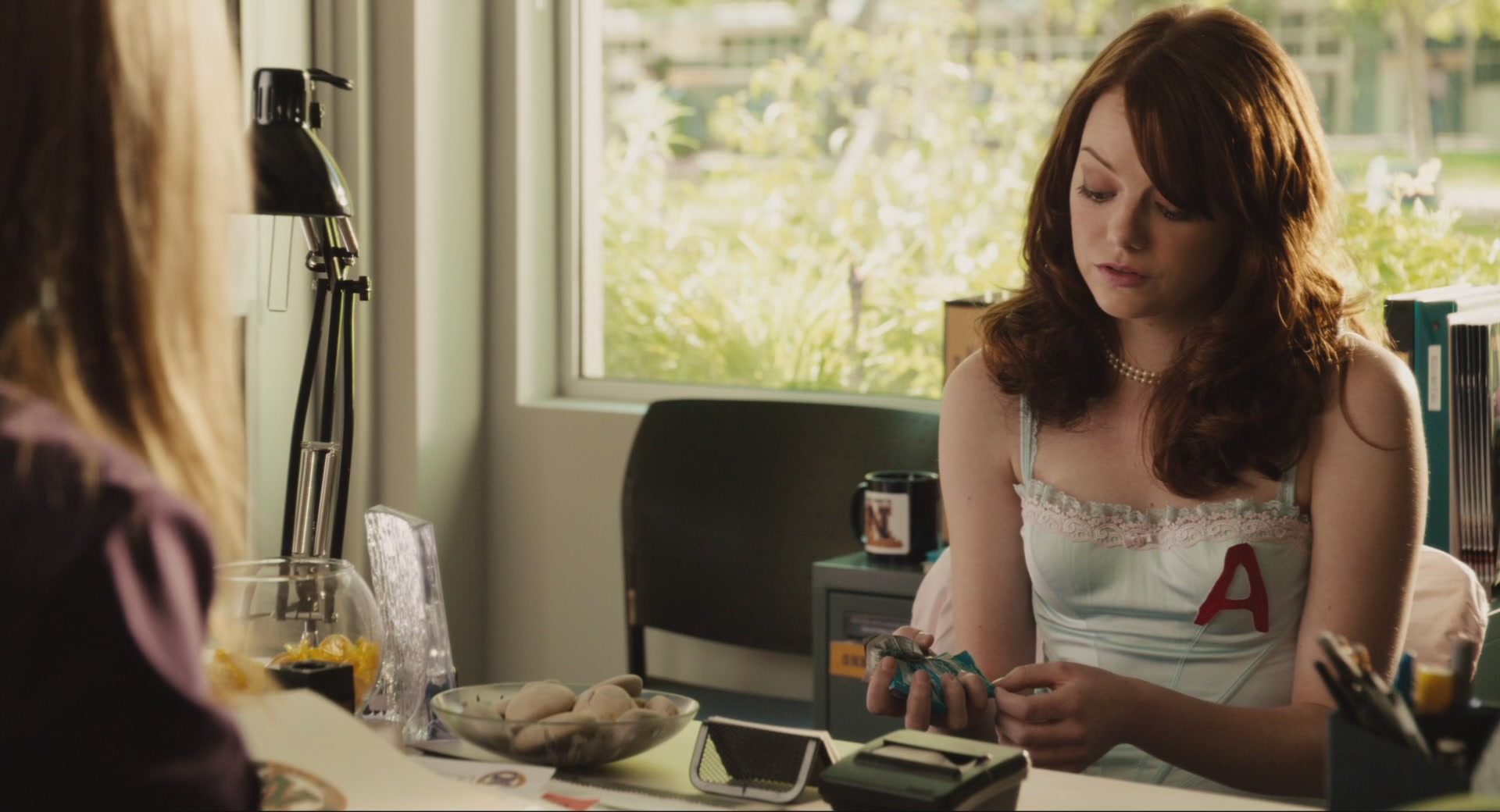 easy a Can you believe that it's been over five years since easy a was first released  pretty crazy, right related: emma stone's shoes are to die.