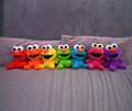 Elmo's colorful Friends