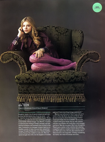Empire Magazine May 2012 Scans ~ Dark Shadows Статья