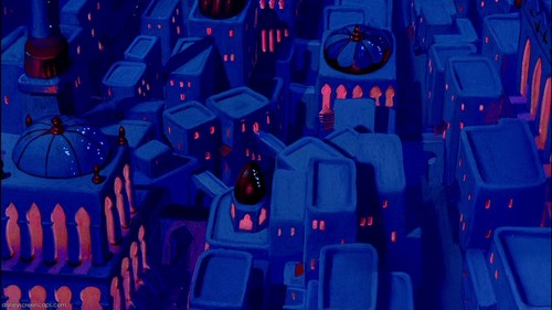 Empty Backdrop from Aladdin - disney-crossover Screencap
