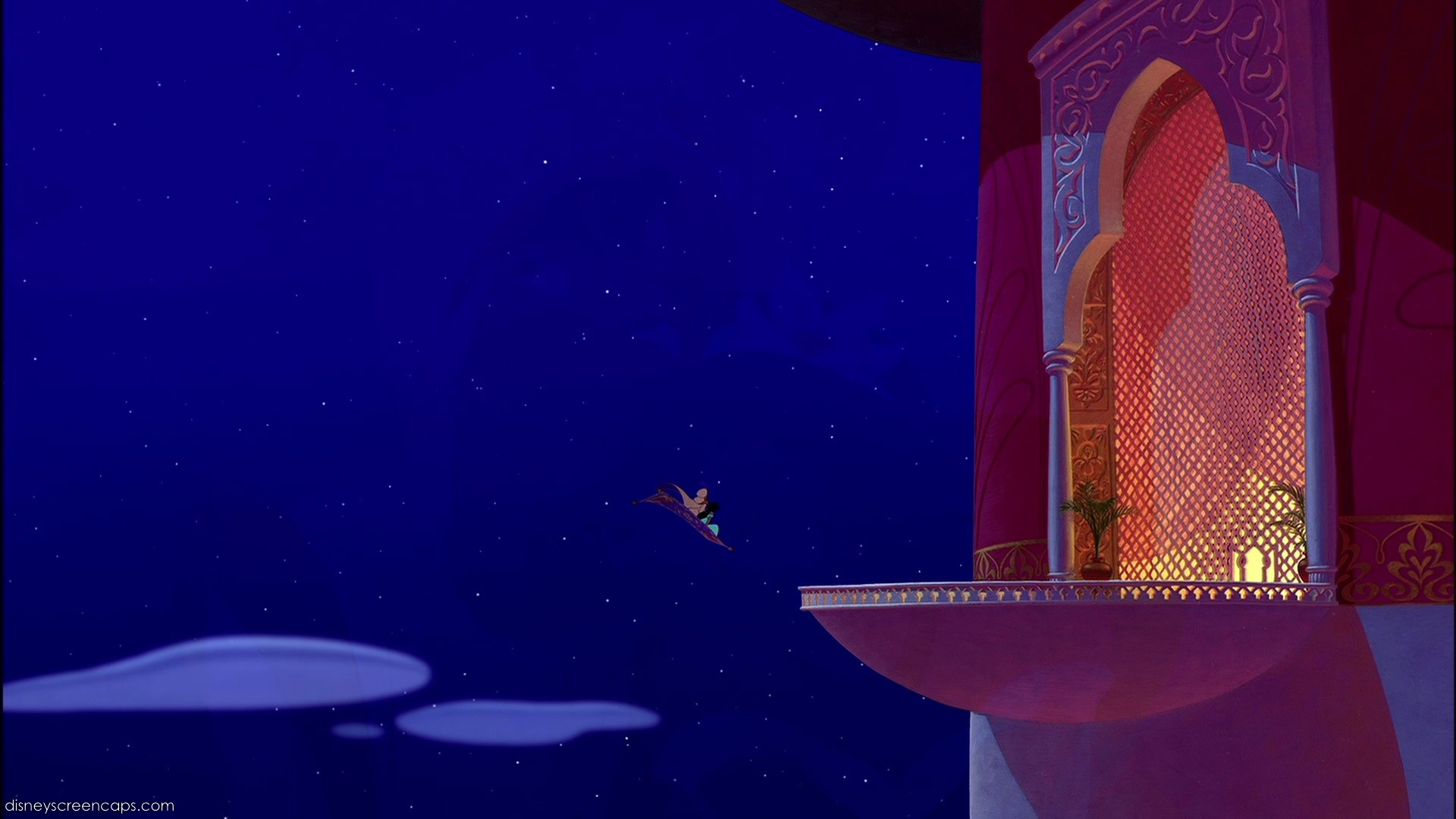 Empty Backdrop From Aladdin Disney Crossover Image