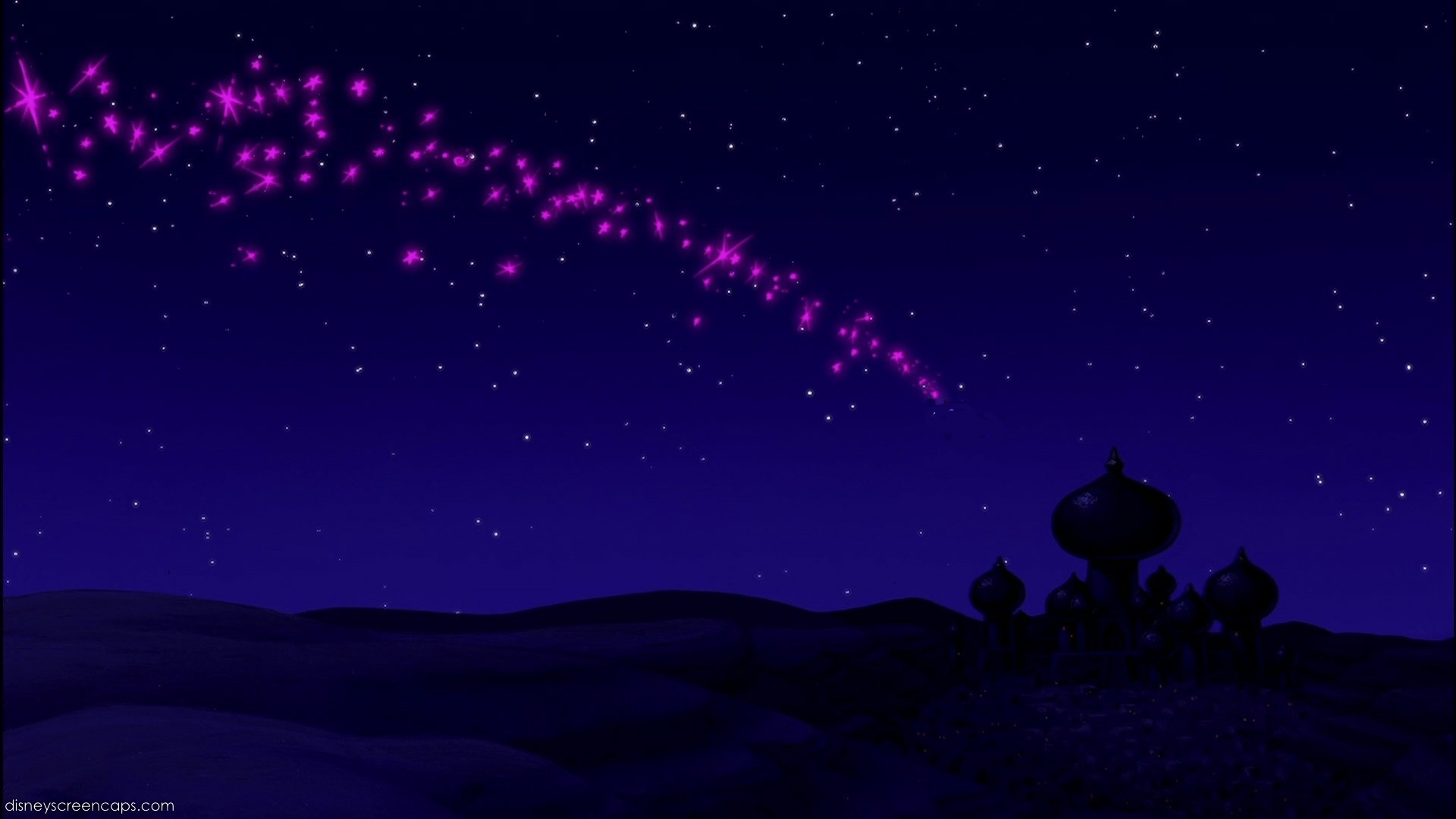 Empty Backdrop from Aladdin