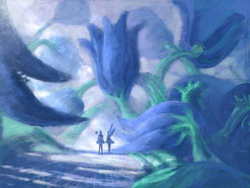 Fairytopia Places concept art দ্বারা Walter Martishus