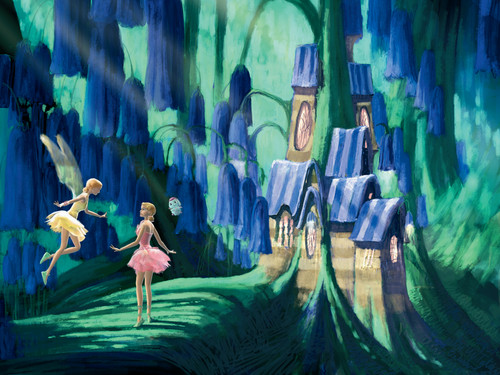 Fairytopia Places concept art by Walter Martishus