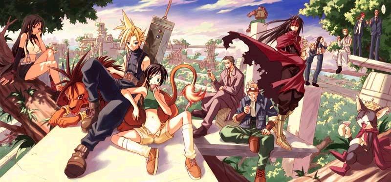 Final Fantasy Wallpaper Called 7