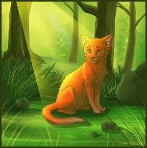 Warrior Cats Pictures on Warrior Cats Forever Fireheart In The Sunlight