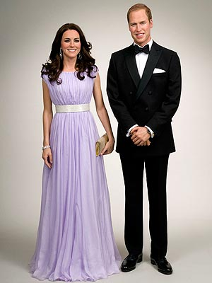 First Look at Mr and Mrs Wales from Madame Tussaud's NYC!