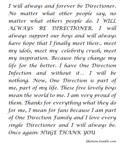 Forever Directioners <333