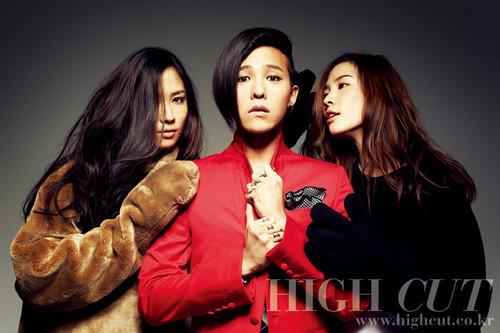 G-Dragon for High Cut