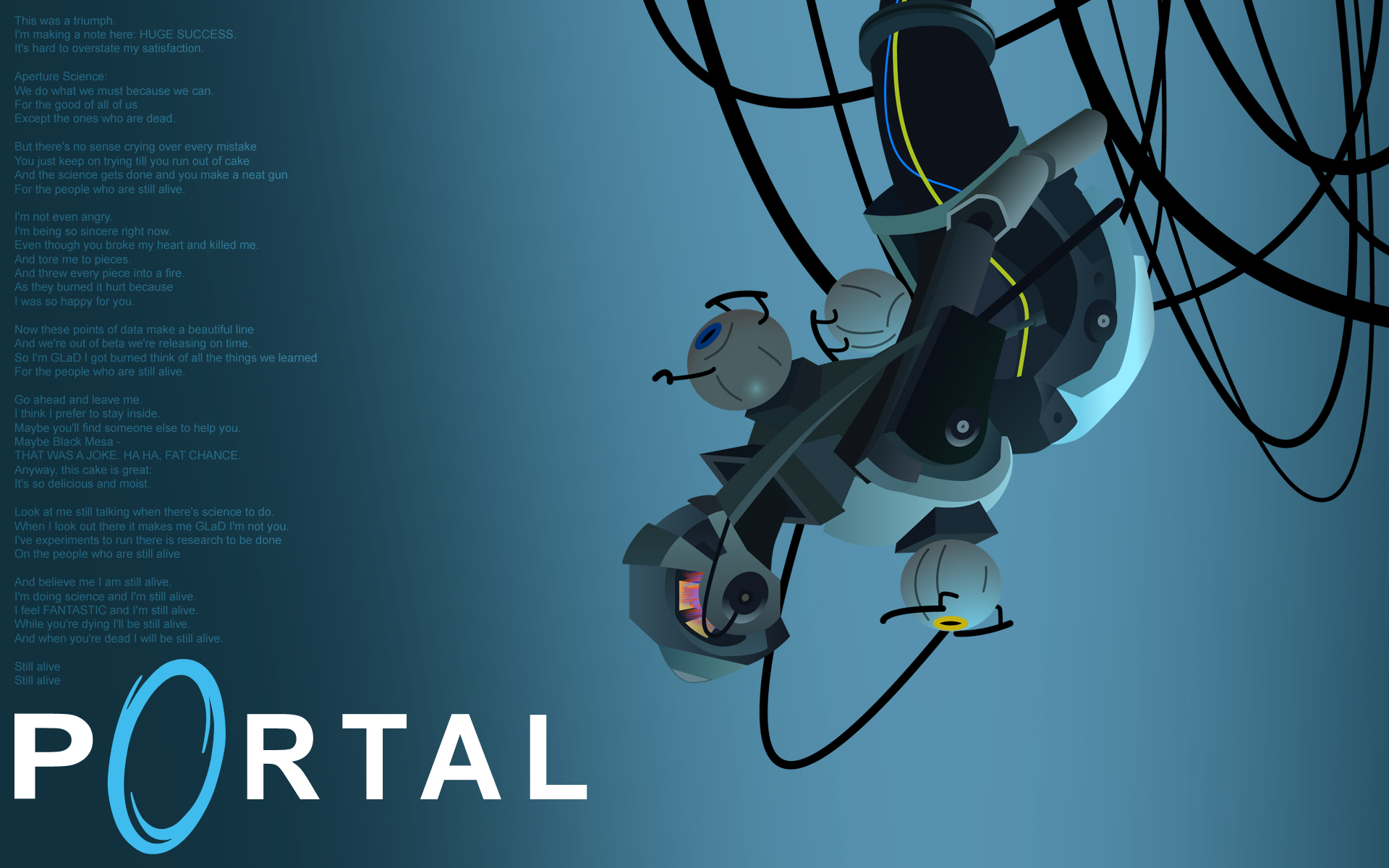 Glados images glados hd wallpaper and background photos for 3 portals