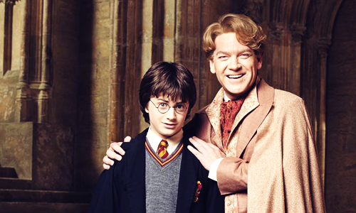 Gilderoy Lockhart and Harry Potter