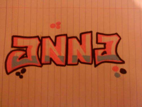 Grafitie from a friend!