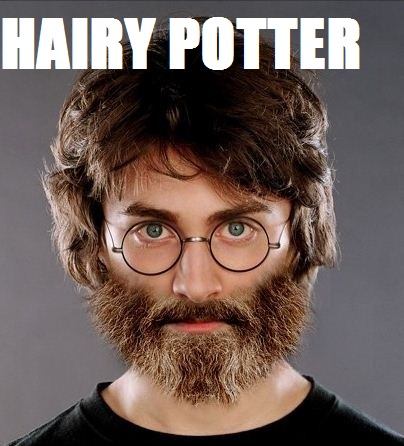 Harry James Potter wallpaper containing a portrait titled Hairy Potter