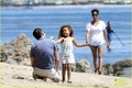 Halle Berry & Olivier Martinez: Malibu Beach Time with Nahla - halle-berry photo