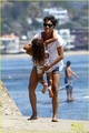 Halle Berry & Olivier Martinez: Malibu Beach Time with Nahla