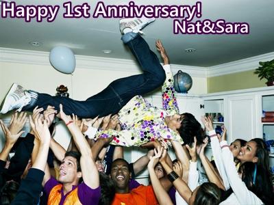 Happy Anniversary Nat&Sara fans!