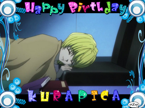 Happy Birthday Kurapica