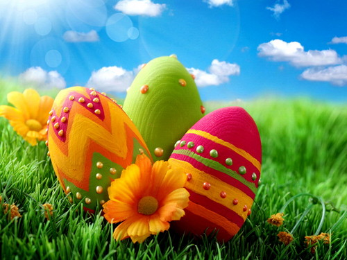 Happy Easter All My fan wallpaper possibly with an easter egg entitled Happy Easter