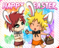 Happy Easter! - naruto fan art