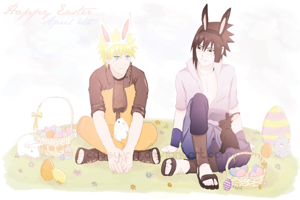 Happy Easter! - Naruto Fan Art (30376350) - Fanpop Gaara As A Baby
