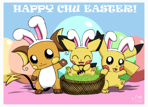 Happy Easter! - pokemon Fan Art