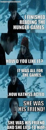 Harry Potter Reacts to THG