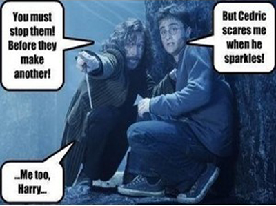 Harry & Sirius funny