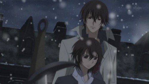 Haruka and Kaname