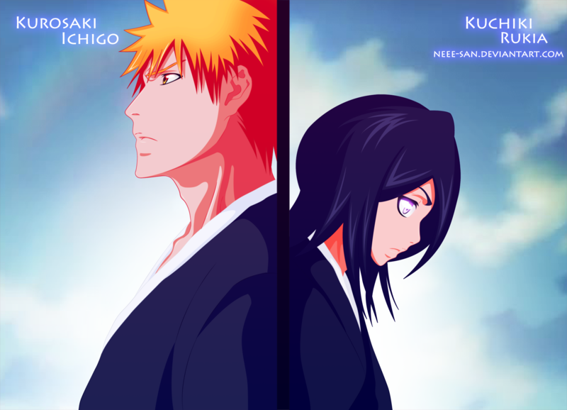 Bleach Forever Images Ichigo And Rukia HD Wallpaper Background Photos