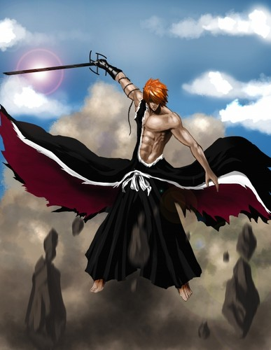 Ichigo at fullpower