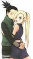 Ino and Shikamaru Nara