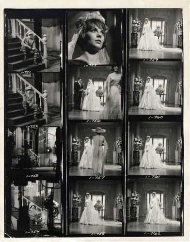 Inside daisy Clover contact sheet, 1965