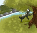 Ivypool - warriors-novel-series fan art