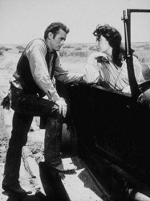 James Dean and Elizabeth Taylor