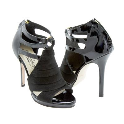 Black Suede Heels, Jane Seymour
