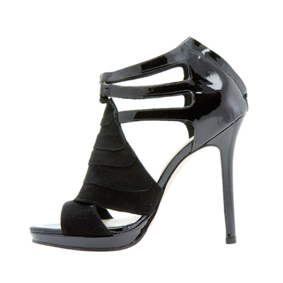 Black Leather Sandals, Jane Seymour