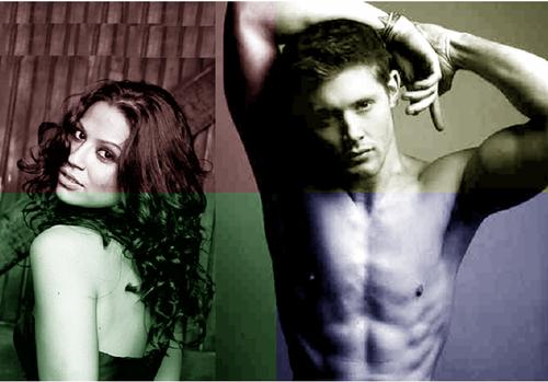 Jensen Ackles and Navi Rawat