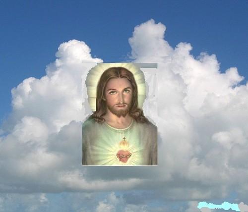 Jesus's face