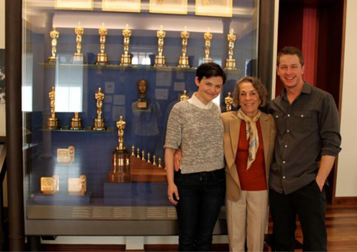 Josh& Ginnifer visited together San Francisco Walt ディズニー Museum.