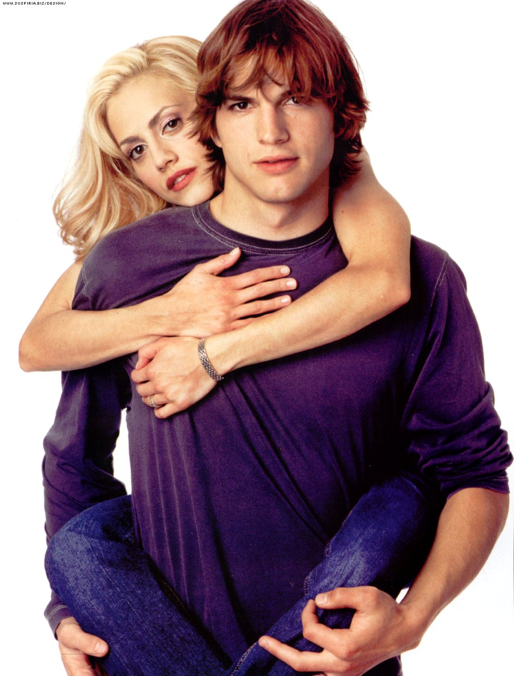 Brittany Murphy And Ashton Kutcher At The Just Married ...