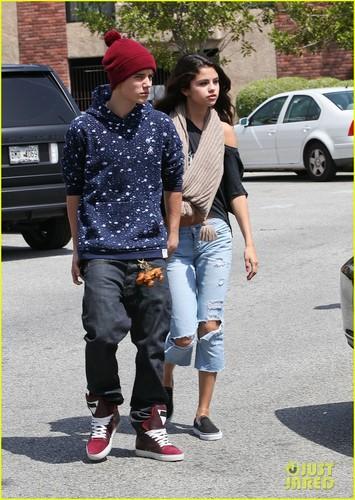 Justin Bieber & Selena Gomez: Panera Pair