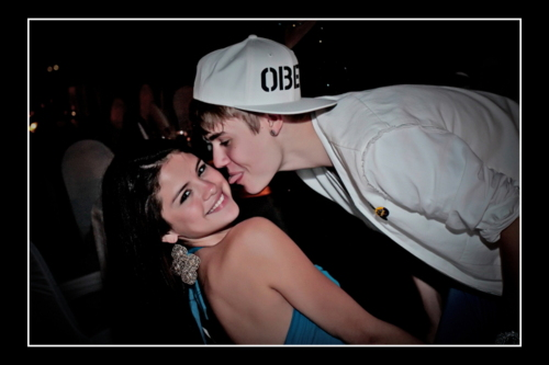 Justin Bieber and Selena Gomez at Shannon's Wedding 12/11