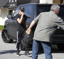 Justin in Los Angeles ☺